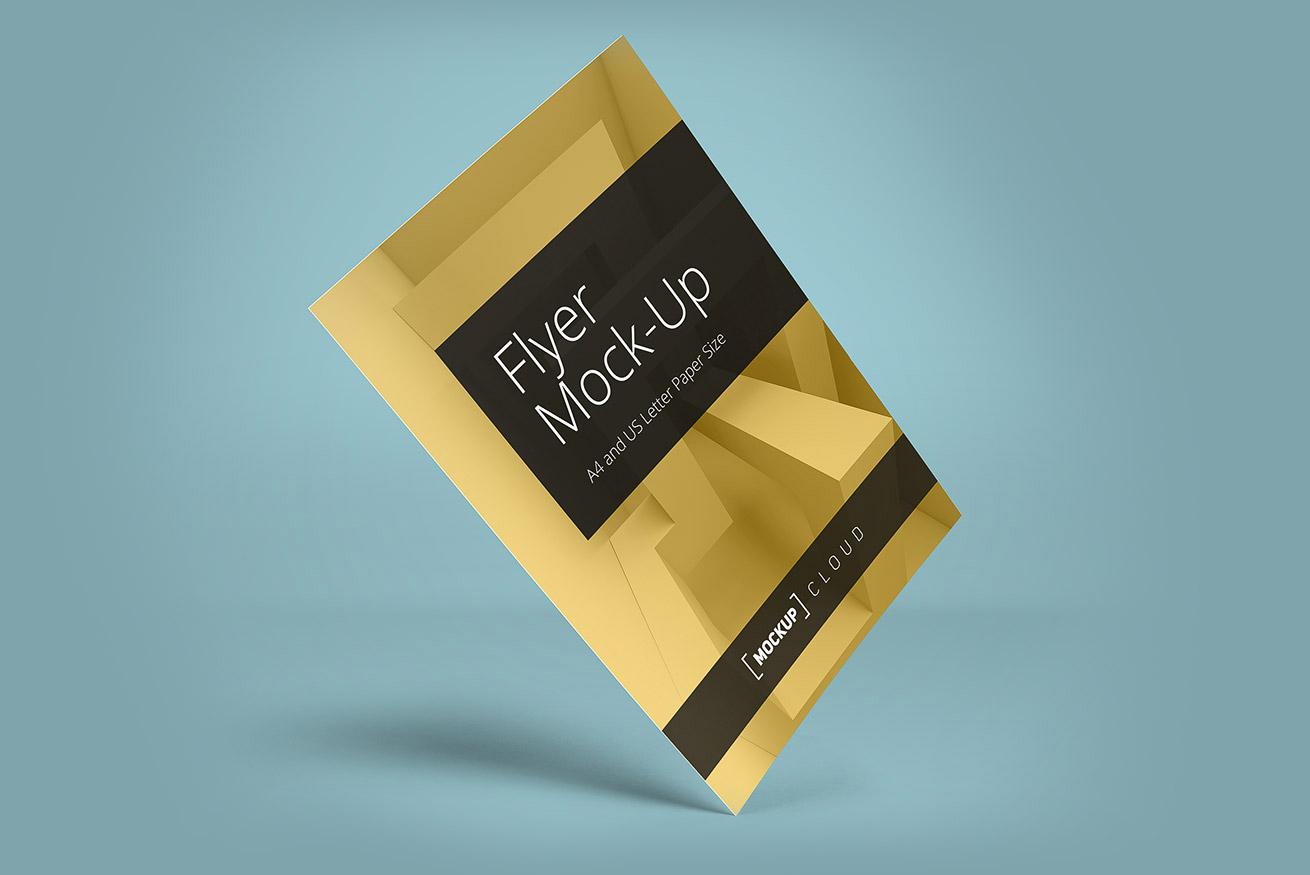 Flyer Mockup | Mockup Cloud