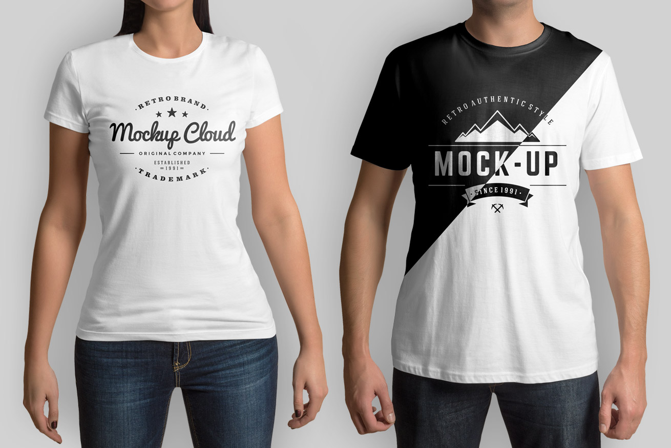 t shirt mockup set mockup cloud