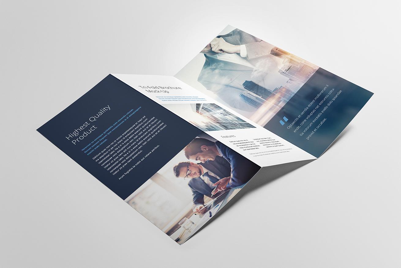tri fold brochures